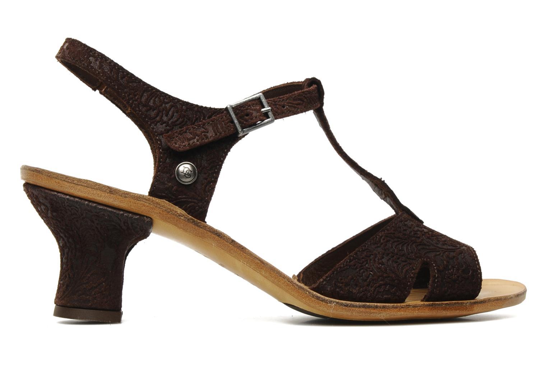 Sandales et nu-pieds Neosens Rojal 462 Marron vue derrière