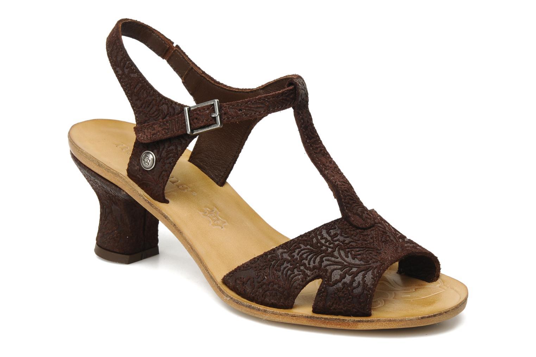 Sandales et nu-pieds Neosens Rojal 462 Marron vue détail/paire