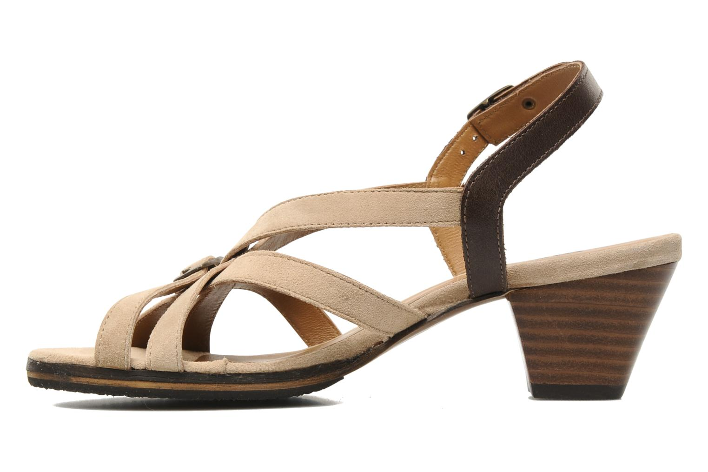Sandalen Kickers KENYANE Beige voorkant