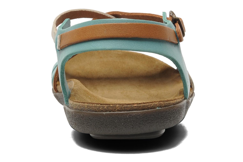 Sandales et nu-pieds Kickers Atomium Bleu vue droite