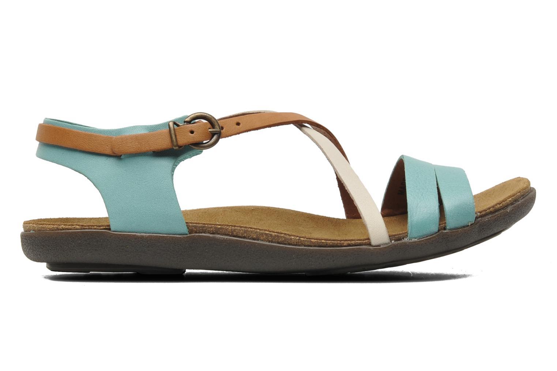 Sandales et nu-pieds Kickers Atomium Bleu vue derrière