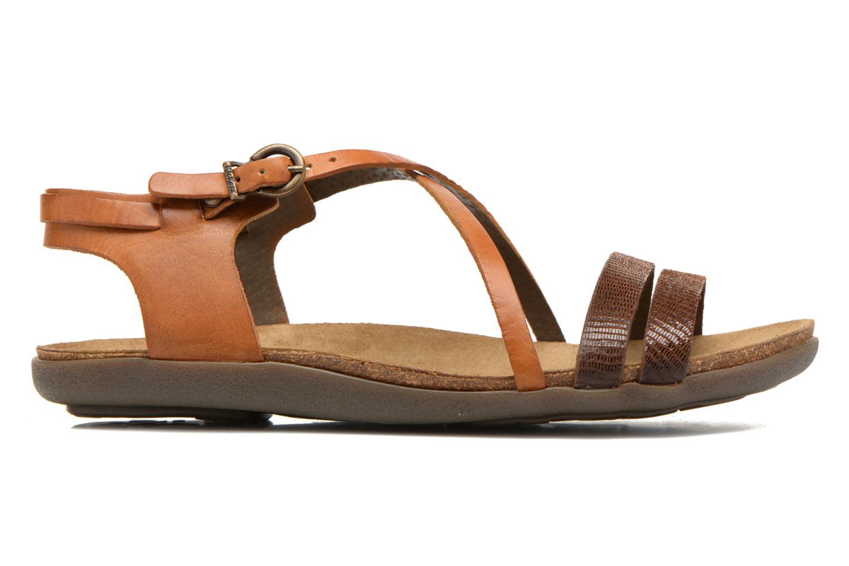 Sandalen Kickers Atomium Bruin achterkant