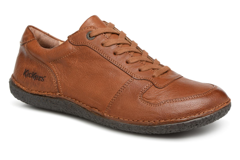Grandes descuentos últimos zapatos Kickers HOME (Marrón) - Bailarinas Descuento
