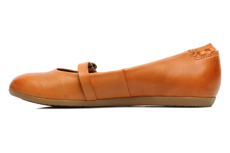 Ballerinas Kickers Ligue orange ansicht von vorne