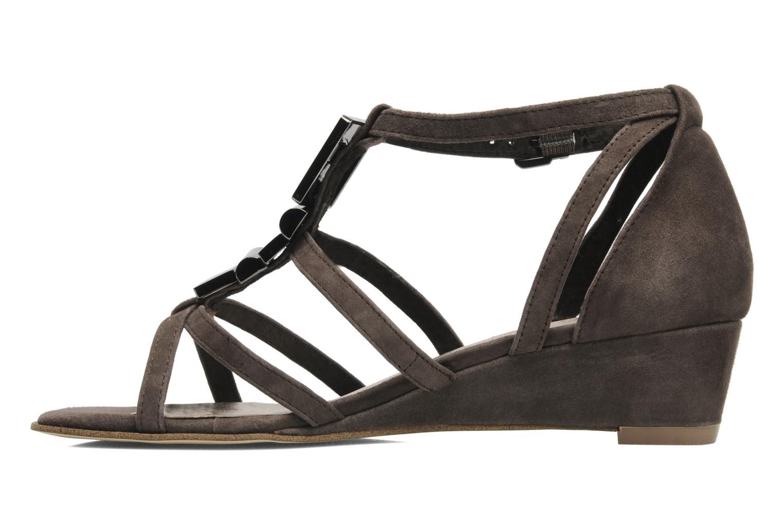 Sandales et nu-pieds JB MARTIN Isca Marron vue face