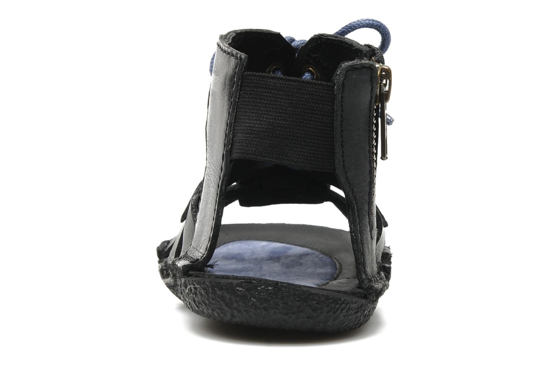 Sandales et nu-pieds Kickers PUNCHY E Noir vue droite
