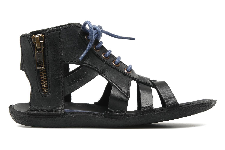 Sandalen Kickers PUNCHY E Zwart achterkant