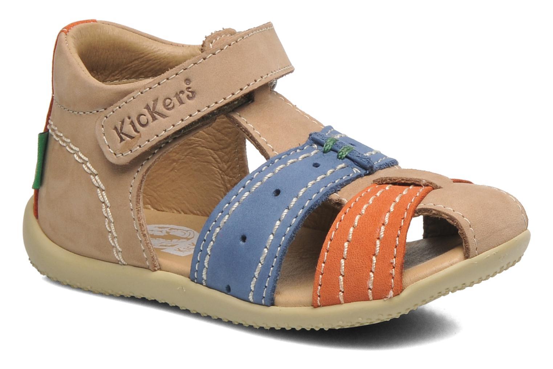 Sandalen Kickers BIGBAZAR beige detaillierte ansicht/modell