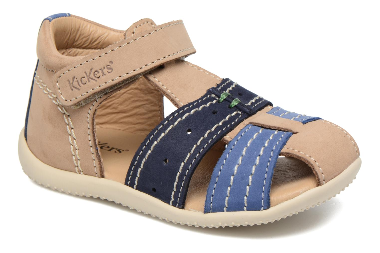 Sandalen Kickers BIGBAZAR Beige detail