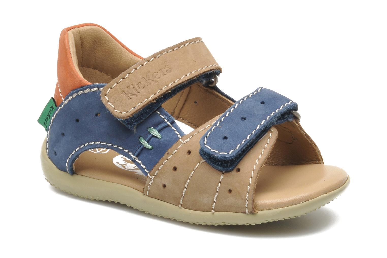 Sandales et nu-pieds Kickers BOPING Multicolore vue détail/paire