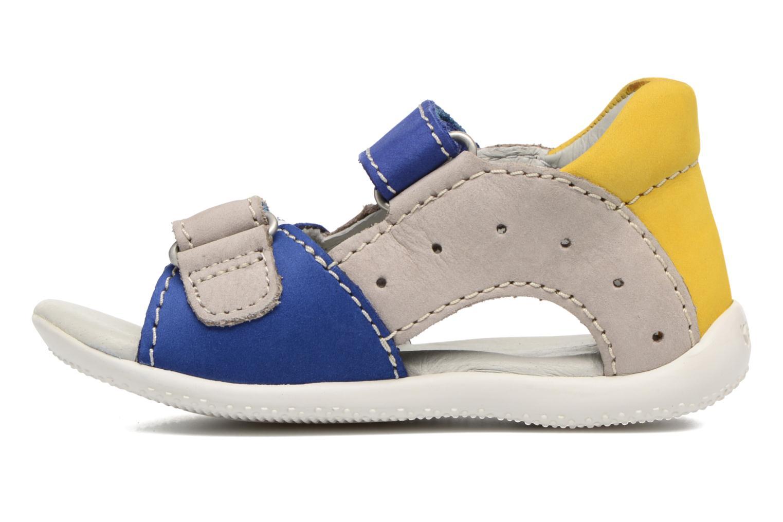 Sandales et nu-pieds Kickers BOPING Bleu vue face