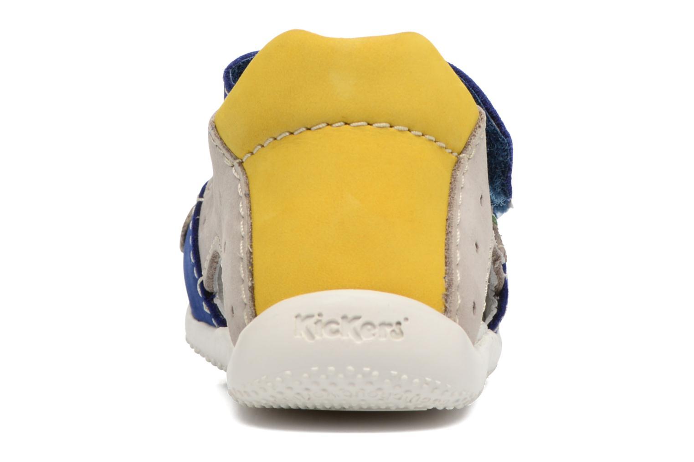 Sandales et nu-pieds Kickers BOPING Bleu vue droite
