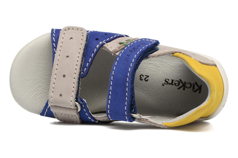 Sandales et nu-pieds Kickers BOPING Bleu vue gauche
