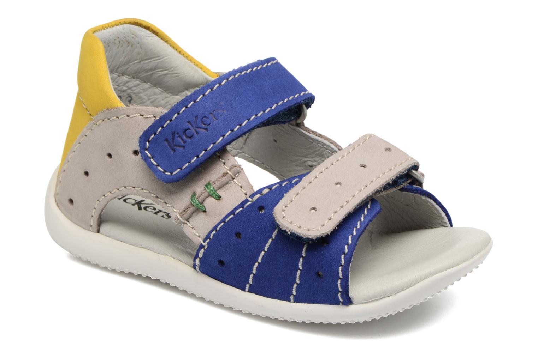 Sandales et nu-pieds Kickers BOPING Bleu vue détail/paire