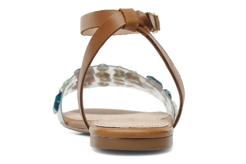 Sandales et nu-pieds KG By Kurt Geiger Noble Marron vue droite