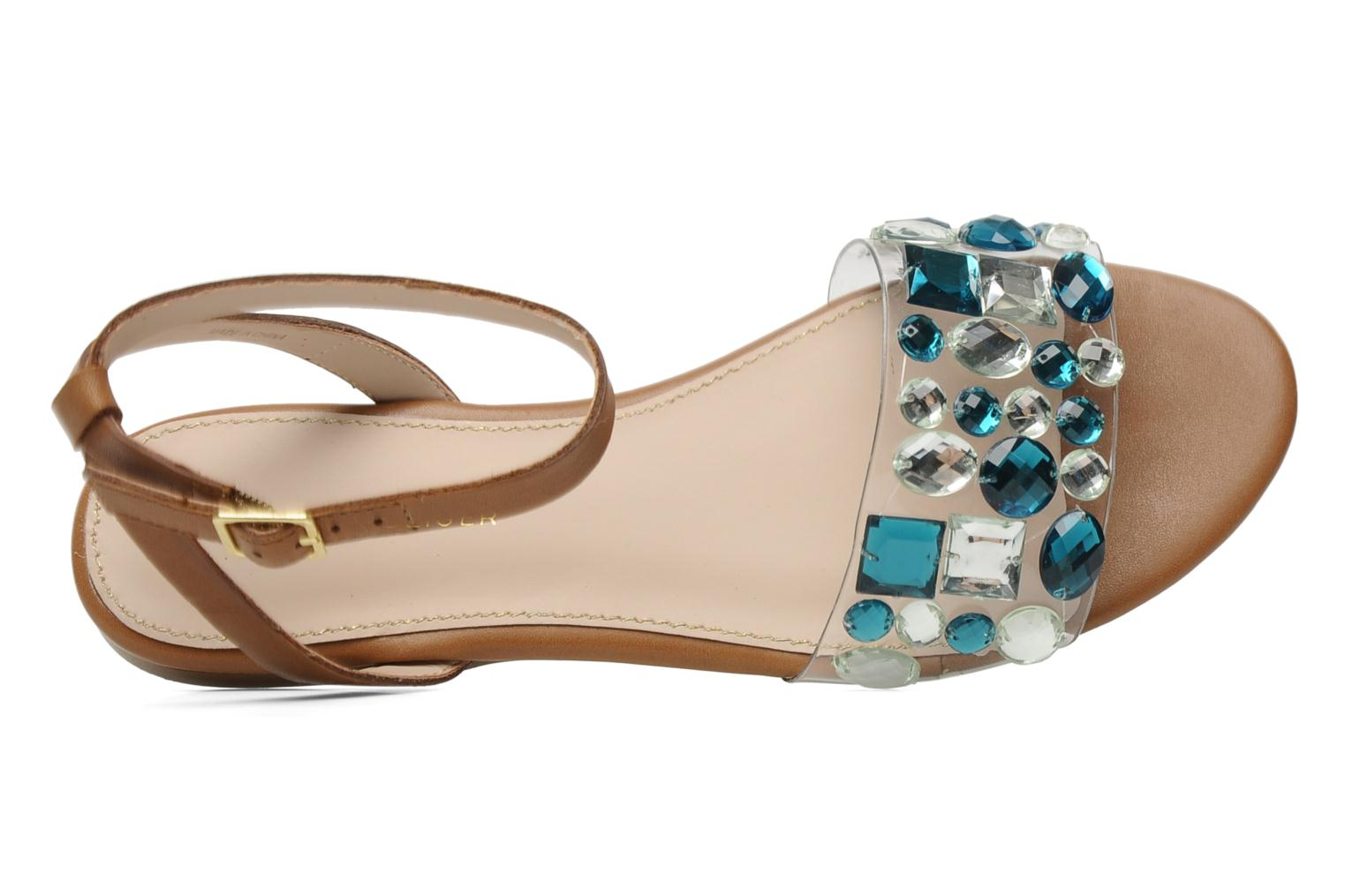 Sandals KG By Kurt Geiger Noble Brown view from the left