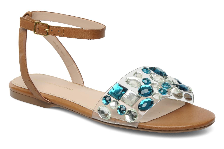 Sandales et nu-pieds KG By Kurt Geiger Noble Marron vue détail/paire