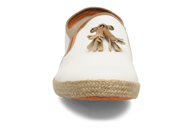 Espadrilles KG By Kurt Geiger Benson Blanc vue portées chaussures