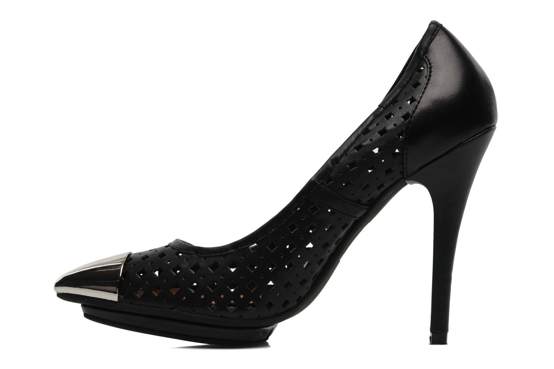 Zapatos de tacón Jeffrey Campbell Bullet PNC Negro vista de frente