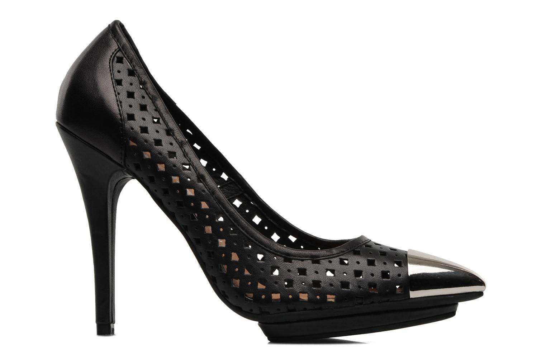 Zapatos de tacón Jeffrey Campbell Bullet PNC Negro vistra trasera