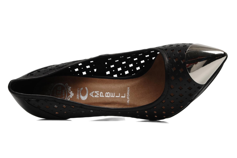 Zapatos de tacón Jeffrey Campbell Bullet PNC Negro vista lateral izquierda