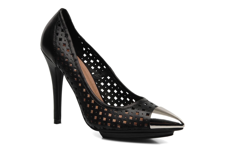 Zapatos de tacón Jeffrey Campbell Bullet PNC Negro vista de detalle / par