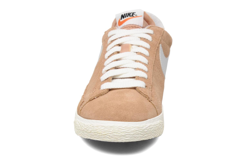 Trainers Nike Blazer Low Prm Vintage Suede Beige model view