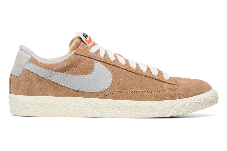 Trainers Nike Blazer Low Prm Vintage Suede Beige back view