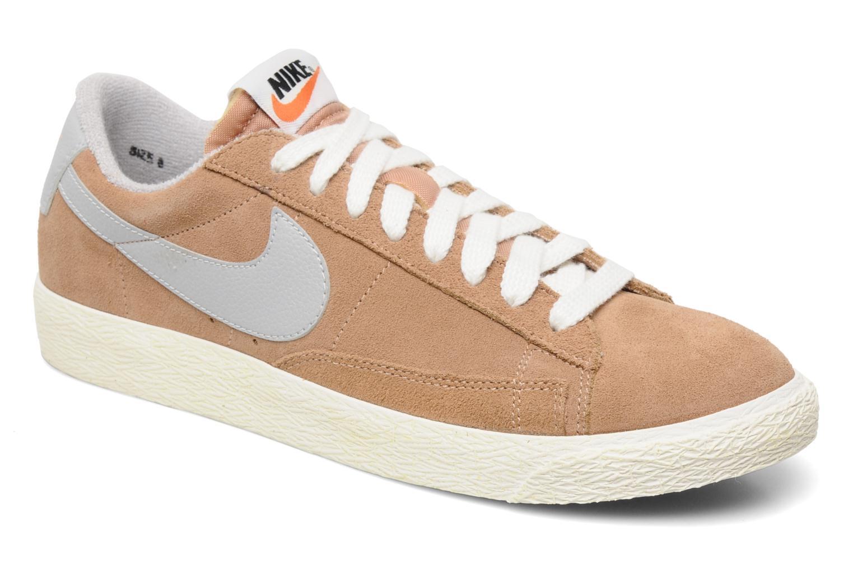 Trainers Nike Blazer Low Prm Vintage Suede Beige detailed view/ Pair view