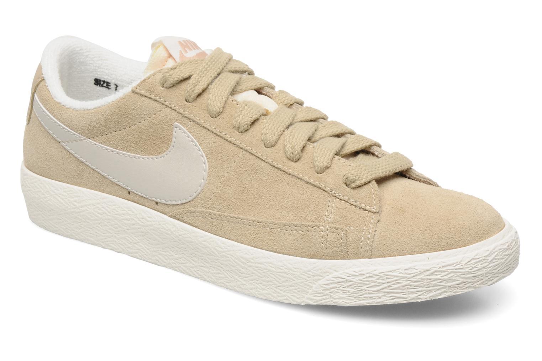 Baskets Nike Wmns Blazer Low Suede Vintage Beige vue détail/paire