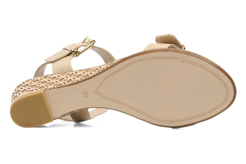 Geesha Blonde leather