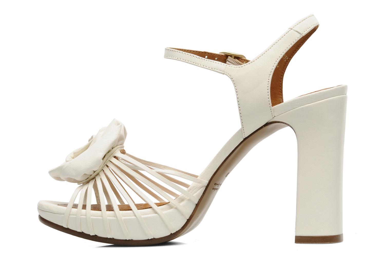 Sandales et nu-pieds Chie Mihara Rose Blanc vue face