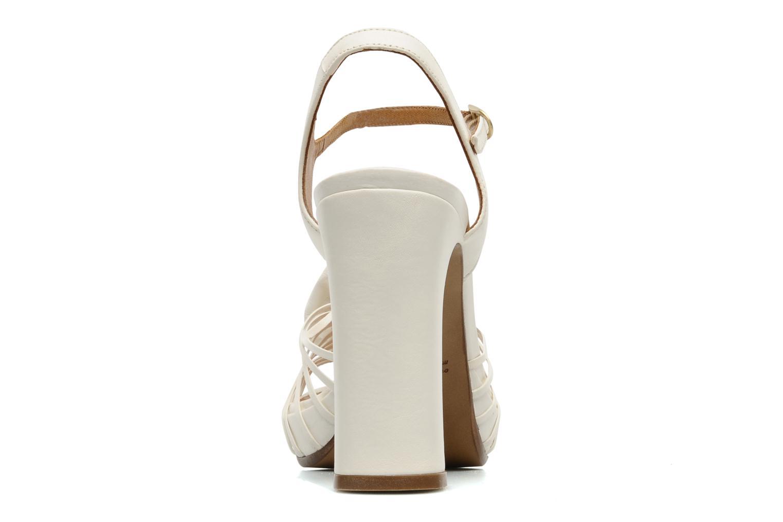 Sandales et nu-pieds Chie Mihara Rose Blanc vue droite