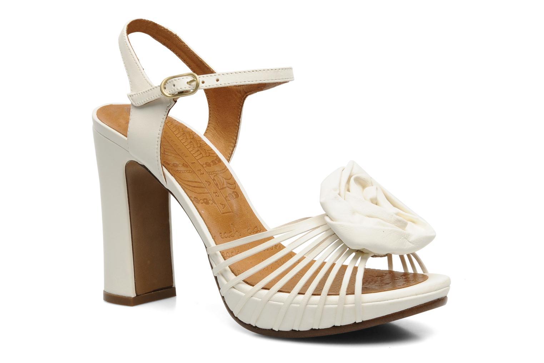 Sandales et nu-pieds Chie Mihara Rose Blanc vue détail/paire