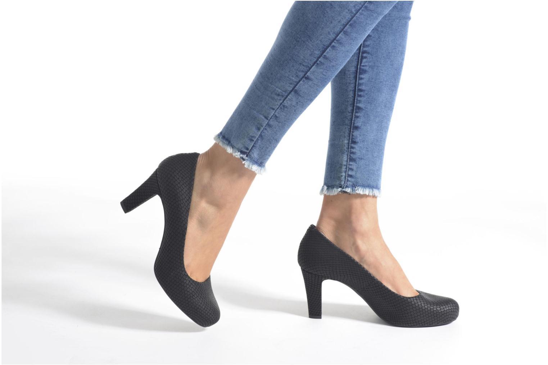 Zapatos de tacón Unisa Numis Vino vista de abajo