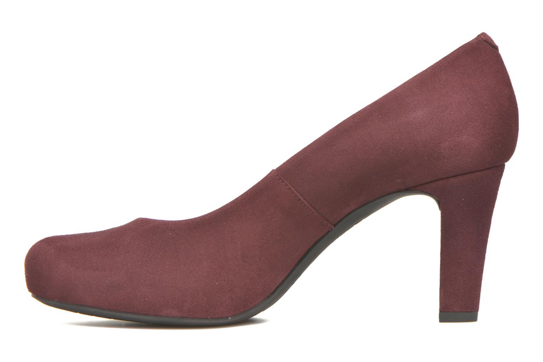 Zapatos de tacón Unisa Numis Vino vista de frente
