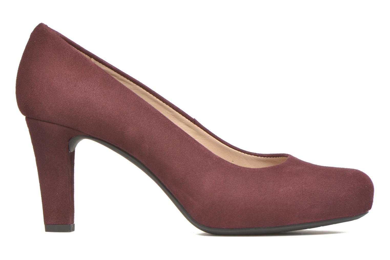 Zapatos de tacón Unisa Numis Vino vistra trasera
