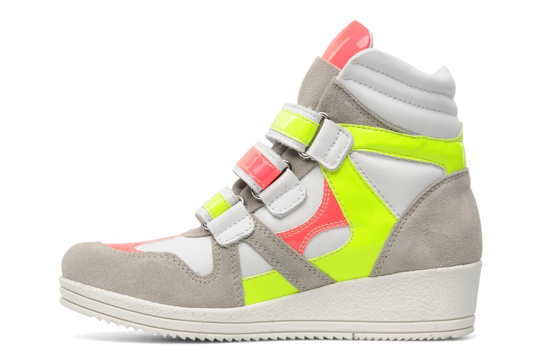 Sneakers Ninette en fleurs 7010 Multicolor voorkant
