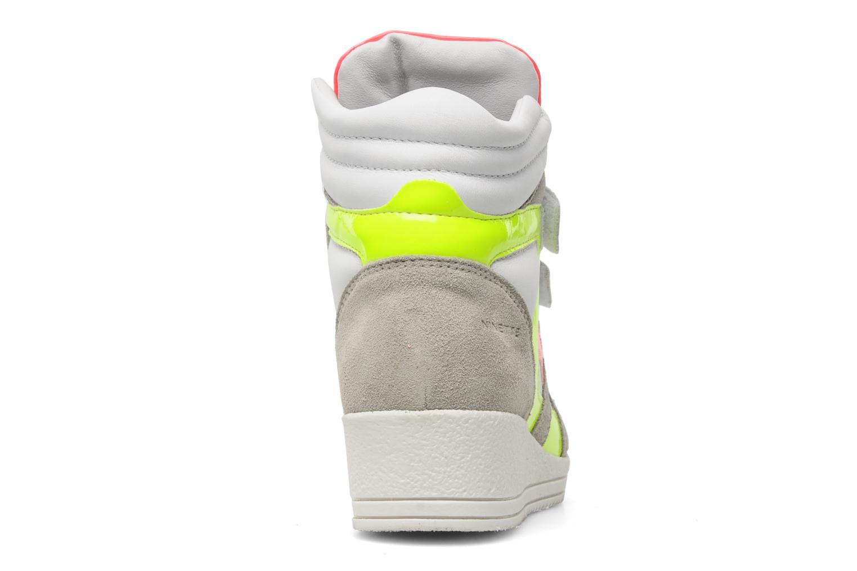 Sneaker Ninette en fleurs 7010 mehrfarbig ansicht von rechts