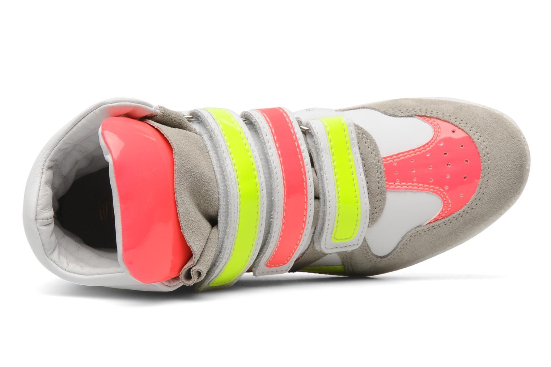 Sneakers Ninette en fleurs 7010 Multicolor links