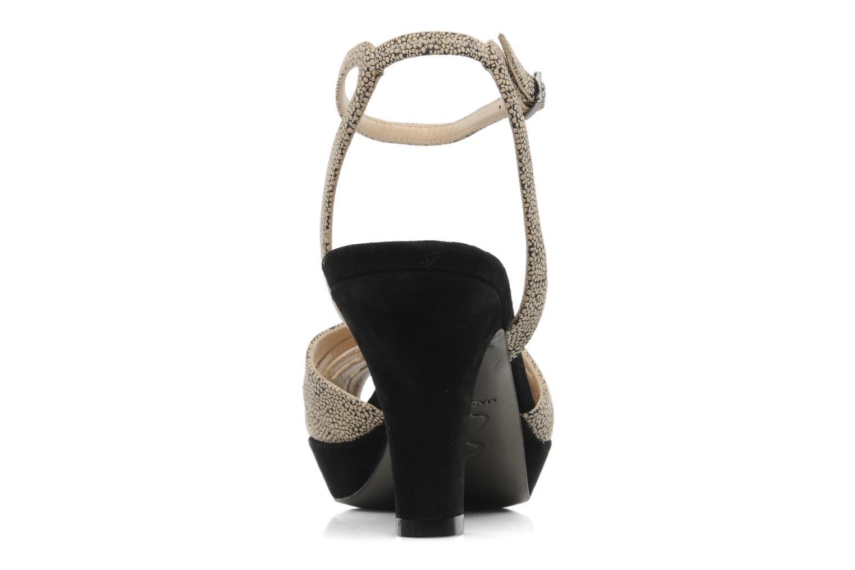 Sandales et nu-pieds Ernesto Esposito Kira Beige vue droite