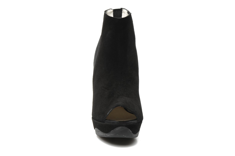 Sandales et nu-pieds B Store Anne 14 Noir vue portées chaussures