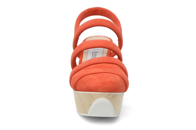 Sandalen B Store Edwige 6 orange schuhe getragen