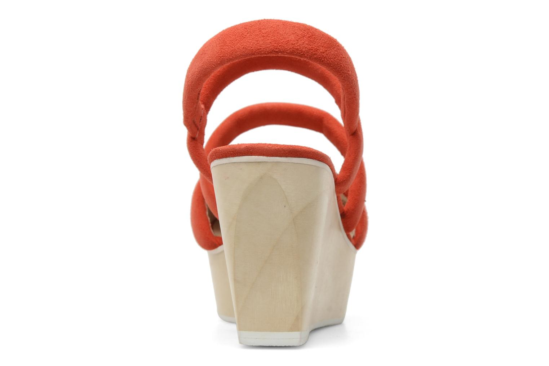 Sandales et nu-pieds B Store Edwige 6 Orange vue droite