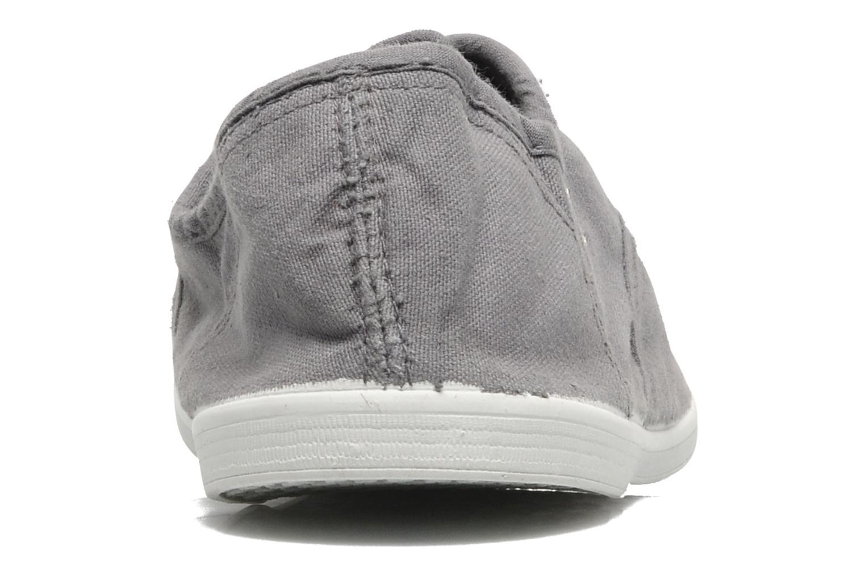 Sneaker Kaporal Vicky grau ansicht von rechts