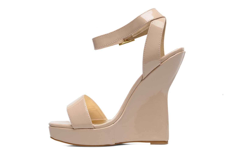 Sandales et nu-pieds I Love Shoes Phodeal Beige vue face
