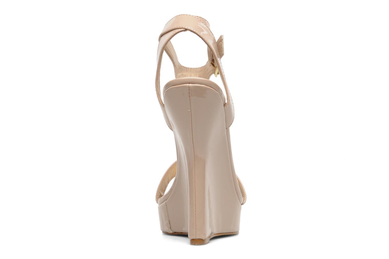 Sandales et nu-pieds I Love Shoes Phodeal Beige vue droite