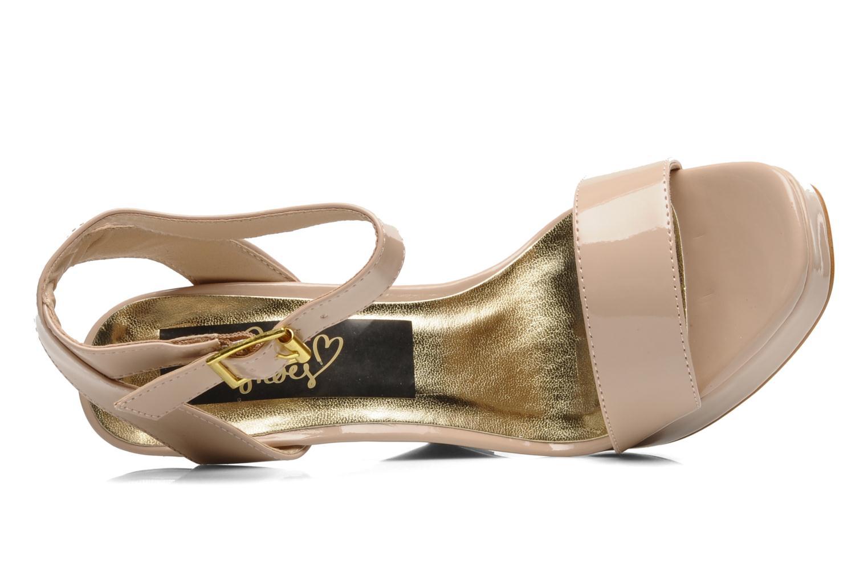 Sandales et nu-pieds I Love Shoes Phodeal Beige vue gauche
