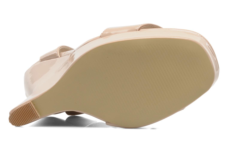 Sandales et nu-pieds I Love Shoes Phodeal Beige vue haut