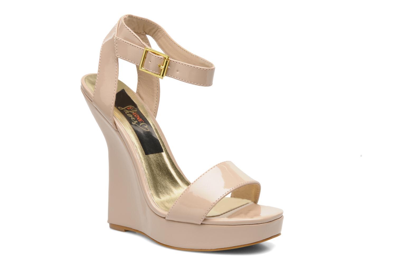 Sandales et nu-pieds I Love Shoes Phodeal Beige vue détail/paire